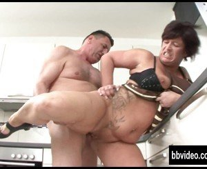 German milf eat plumber dick