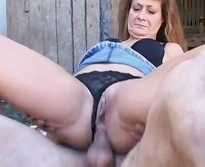 OlderWife Cheating withFarmerMan