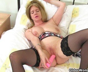 British milf Lily and Scottish milf Toni need getting off