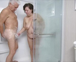 Silver Stallion and Tammy Shower Fun