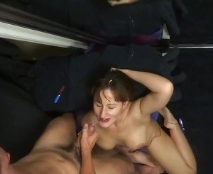 Friends wife cumshot