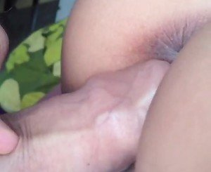 My hubby fucking my wet pussy and cumming inside
