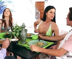 Hot India Summer And Tysen Rich Sharing Hard Cock