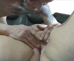 BBW with cheating her husband with skinny dud