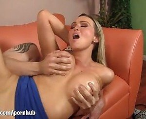 WANKZ - MILF Boss Gets her Big Tits Covered In Hot Jizz!