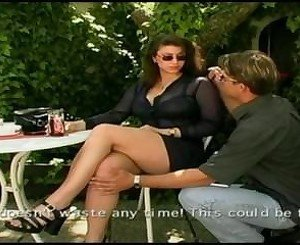 Big Natural Tits Stepmom cheats on her husband in a public bar