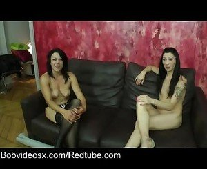 Two brunette milfs in heat