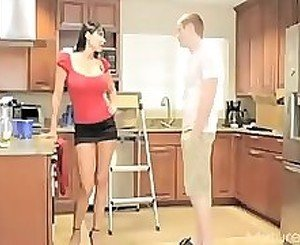 SuperMilf Teen + Boy 06 From MatureSide