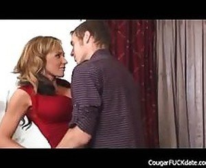 Hot Cougar Gets Her Pussy Fucked Hard