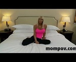 Big tits milf fucking in first porn ever ...WOW