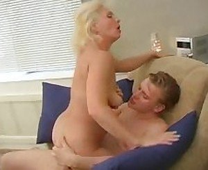 an young boy called home by his horny mother to fuck