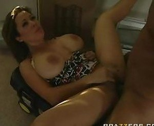 Busty MILF Ms West getting fucked