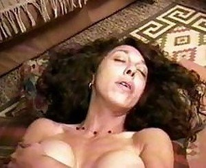 hairy lesbo and cum fuck
