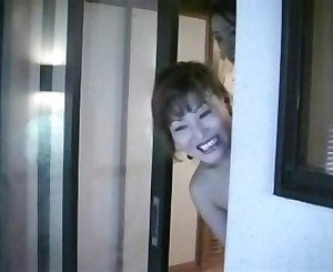 Horny Japanese  housewives masterbate #(34)