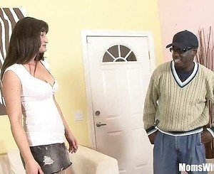 Housewife Santina Marie Ordered Black Cock Ho