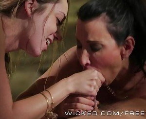 Wicked - Sexy threesome with some massage