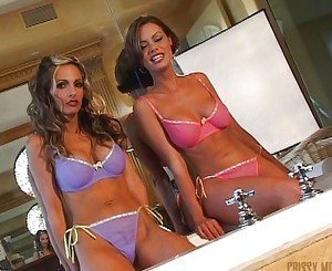 Wet Crissy and Jenna
