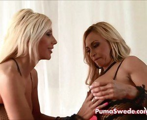 European Blonde Puma Swede Fucks Sexy Claudia