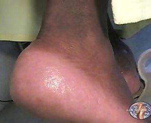 HUGE Size 14WW Mature Ebony Soles 1