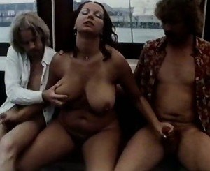 Foursome on a boat