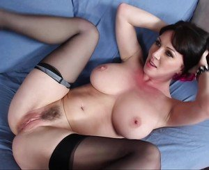 Beatiful busty french milf fucks with a bbc only anal - 1 part 7
