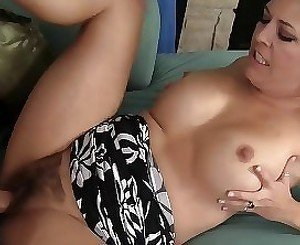 Milf with hairy cunt gets the deepest ever penetration