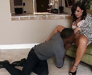 Black Stud is pleasing his horny and naughty MILF